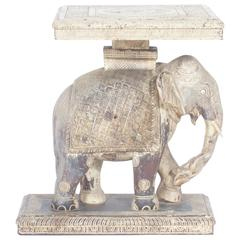 Rustic Anglo-Indian Elephant Table