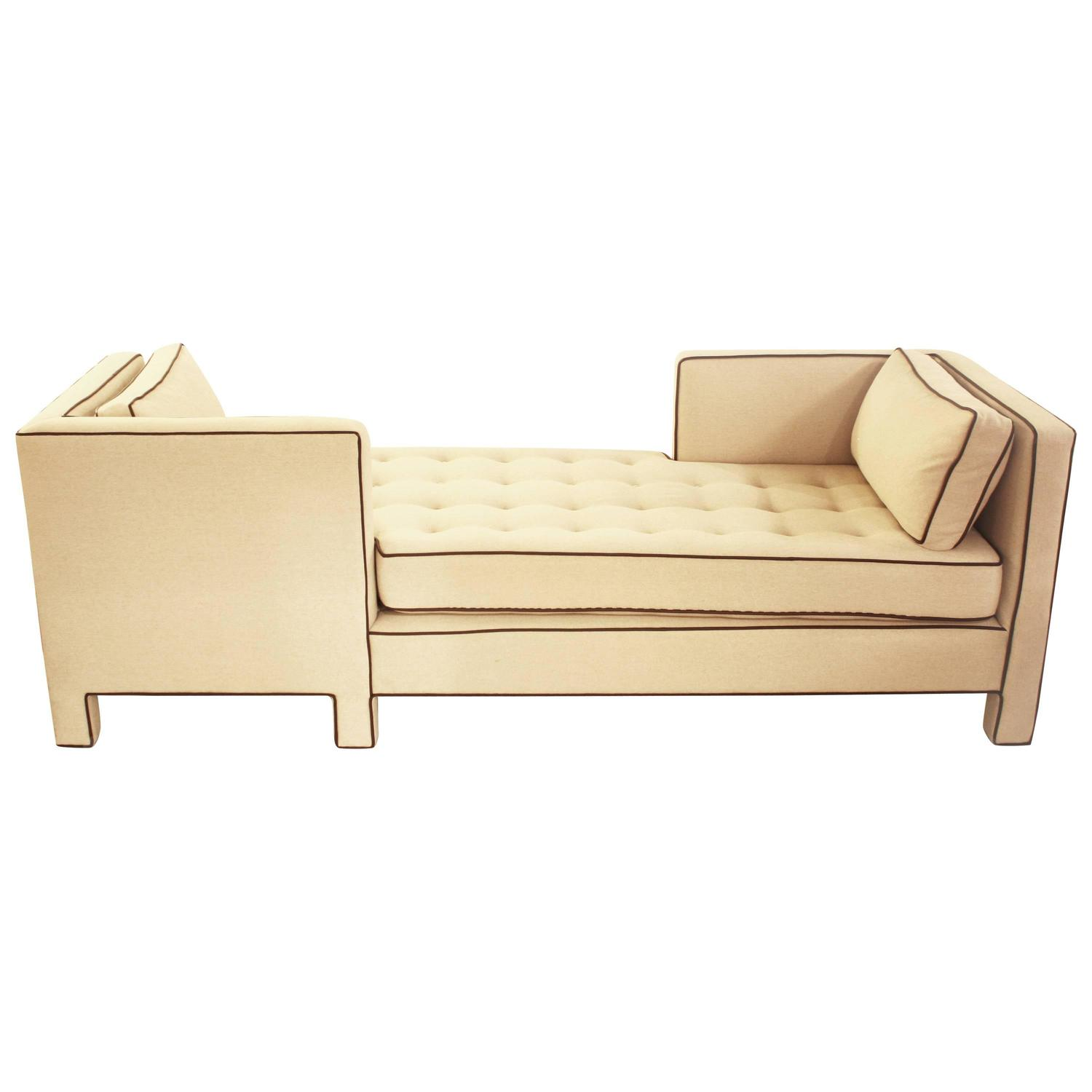 1960s Tete A Tete Sofa Attributed To Edward Wormley For Dunbar For Sale At 1stdibs