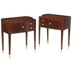 Elegant Bedside Tables by Paolo Buffa