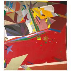 Abstract on Canvas, circa 1960s
