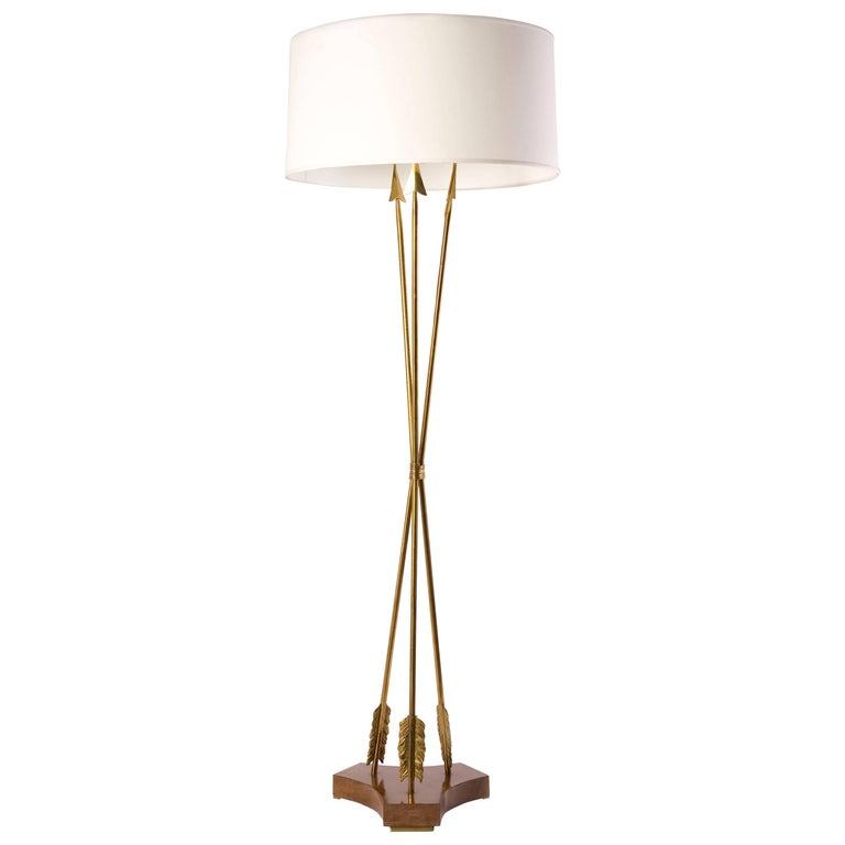 Mid-Century Floor Lamp, France, C. 1950 For Sale
