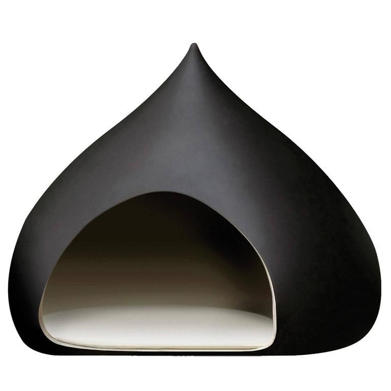 Castagna Ceramic Medium Kennel Designed by Italo Bosa For Sale