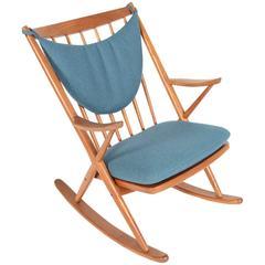 Frank Reenskaug for Bramin Rocking Chair