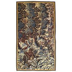 Antique 17th Century Flemish Verdure Tapestry {from Ralph Lauren window display}