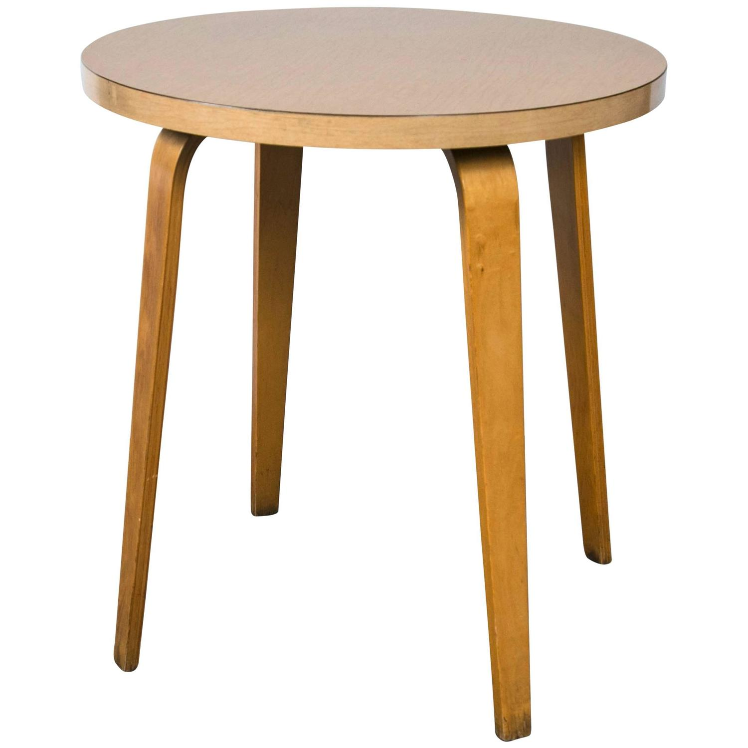 Thonet Side Table Mid Century Modern At 1stdibs