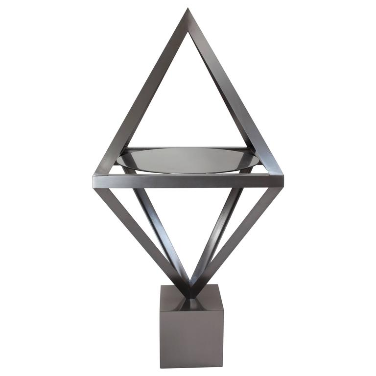 Contemporary Steel 'Alchemy' Side Table by Material Lust, 2016