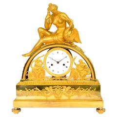 Early 19th Century Gilt Bronze Table Clock