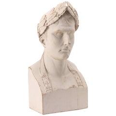 Carved Caesar Bust