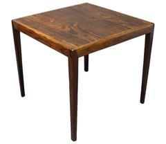 Lamptable in Rosewood from the 1960s