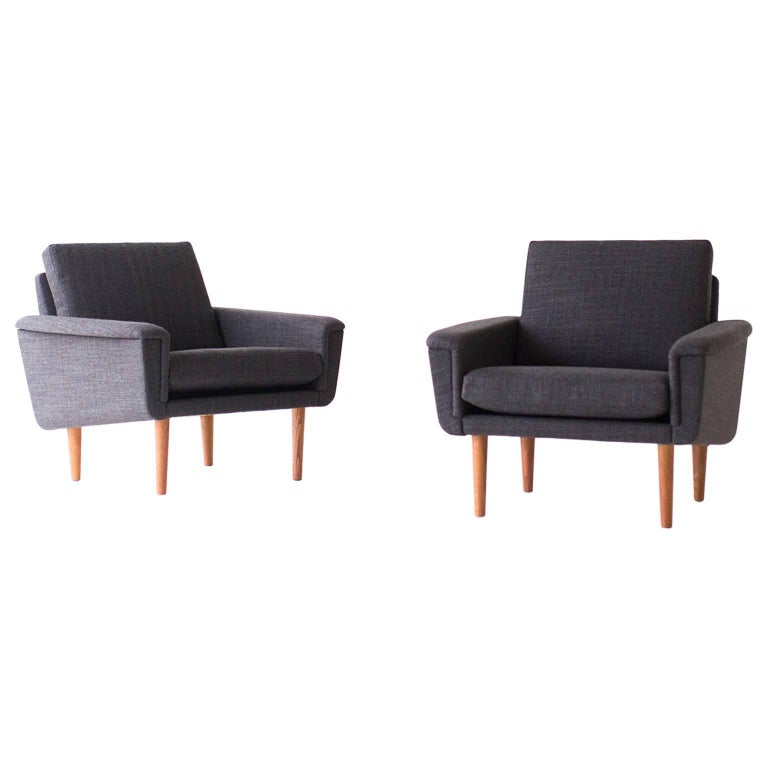 Folke Ohlsson Lounge Chairs for DUX For Sale