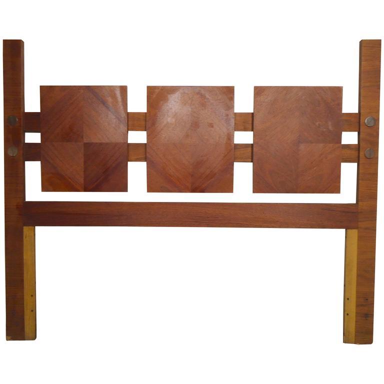 midcentury modern bed frame dixie furniture