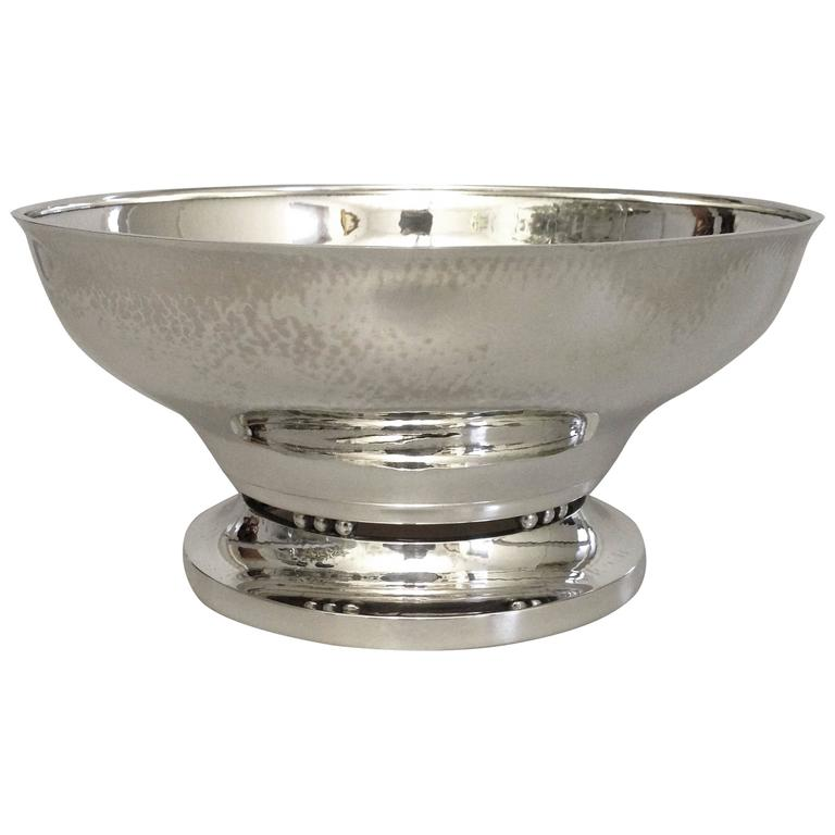 georg jensen sterling silver bowl for sale at 1stdibs. Black Bedroom Furniture Sets. Home Design Ideas