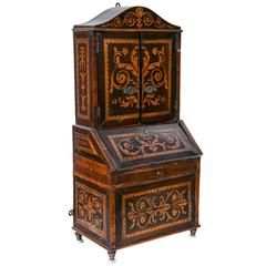 18th Century Italian Miniature Bureau