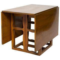 1940s Drop-Leaf Dining Table