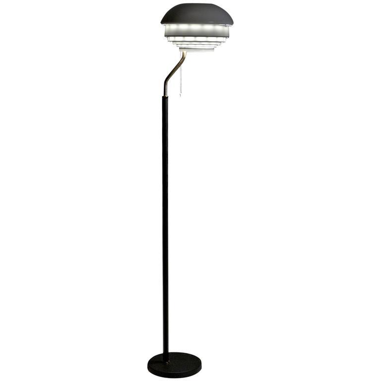 Floor lamp a808 by alvar aalto for artek for sale