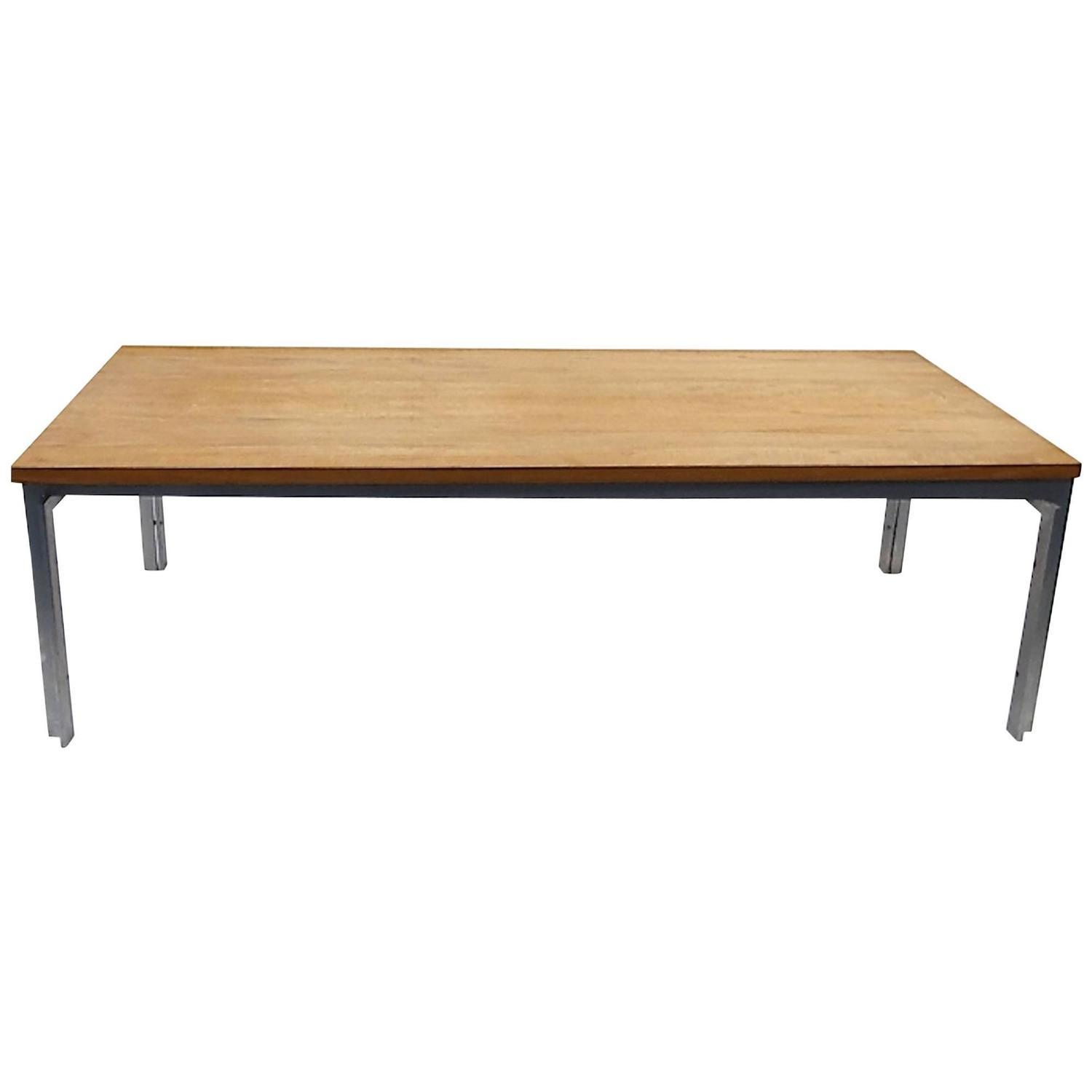 Rare pk59 coffee table with unique teakwood top for sale for Cool coffee tables for sale
