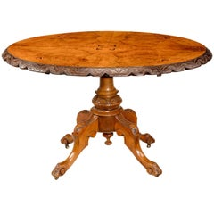Mid-19th Century Walnut Table