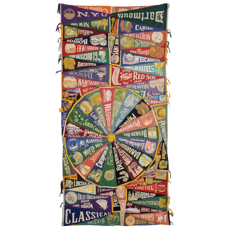 Wool Pennants Quilt For Sale