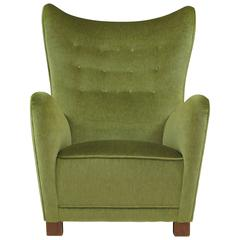 1940s Thorald Madsen High Back Chair