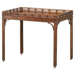 Tray Table, Chippendale Style, England, circa 1900