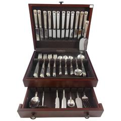 Century by Tiffany & Co. Sterling Silver Dinner Flatware Set Service 78 Pieces