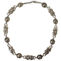 Georg Jensen Sterling Silver Necklace