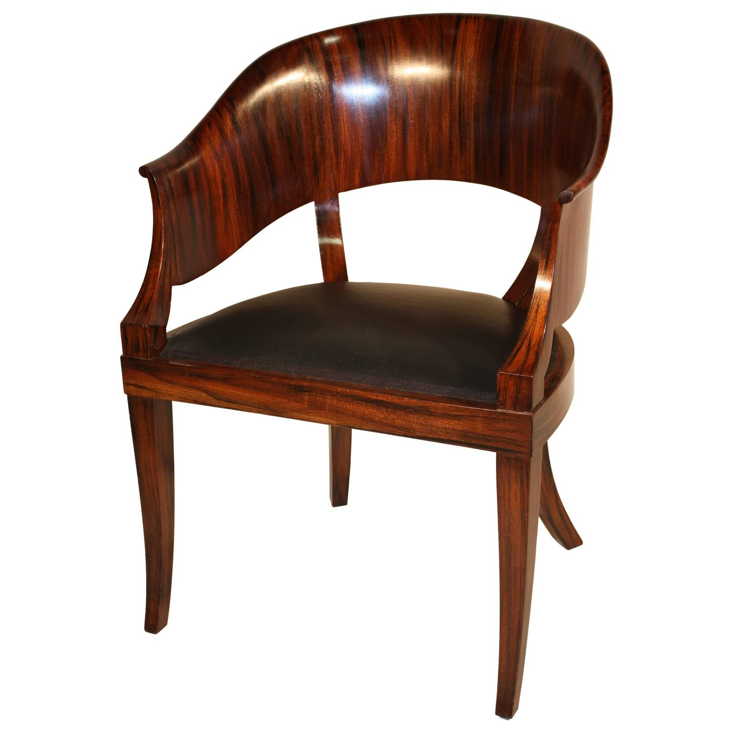 French Art Deco Desk Chair At 1stdibs