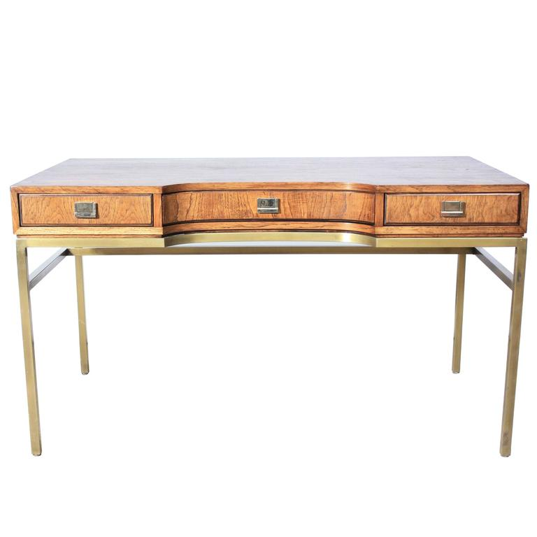 consensus campaign style desk by drexel at 1stdibs rh 1stdibs com modern campaign style desk campaign style desk chair