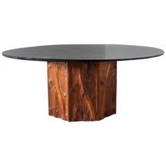 Phillip Lloyd Powell Hand-Sculpted Dining Table 1960s