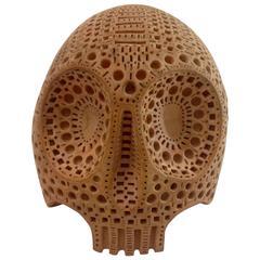 Skull Sculpture by Russian Artist Alexander Ney, 1977