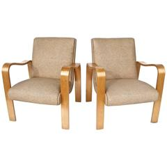 Pair of Stylish Thonet Armchairs