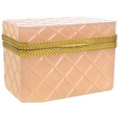 Pink Murano Glass Box