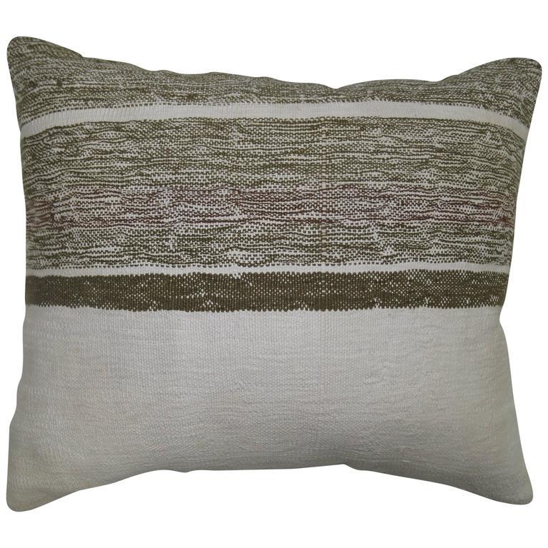 Midcentury Pillow : Midcentury Kilim Pillow at 1stdibs