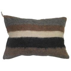 Mohair Rug Pillow