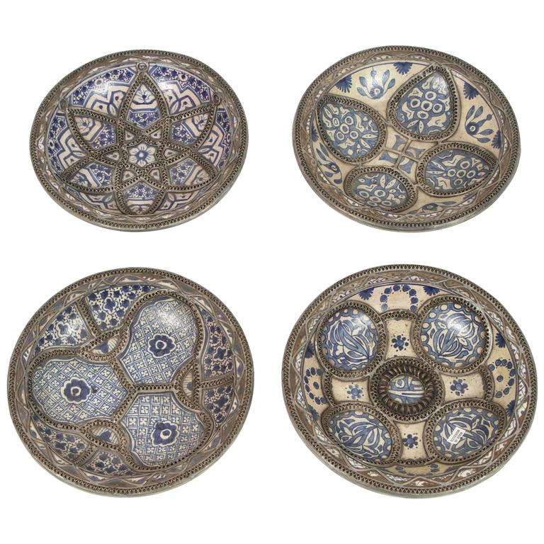 Set Of Four Ceramic Decorative Plates From Fez, Morocco. Sitting Room Ideas. Living Room Armchairs. Renaissance Decor. Decorative Ceiling Panels. Target Room Decor. Decorative Corner Molding. Family Room Sectionals. Rooms To Go Dining Chairs