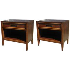 Pair of Bedside Tables in the Manner of Edward Wormley