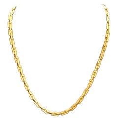 Hermès 'Hercules' 18 Karat Yellow Gold Necklace
