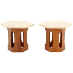 Pair of Harvey Probber Style Side Tables