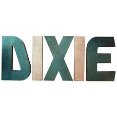 Dixie Drive-in Theatre Letters