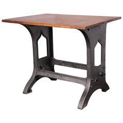 Vintage Industrial Desk or Stand