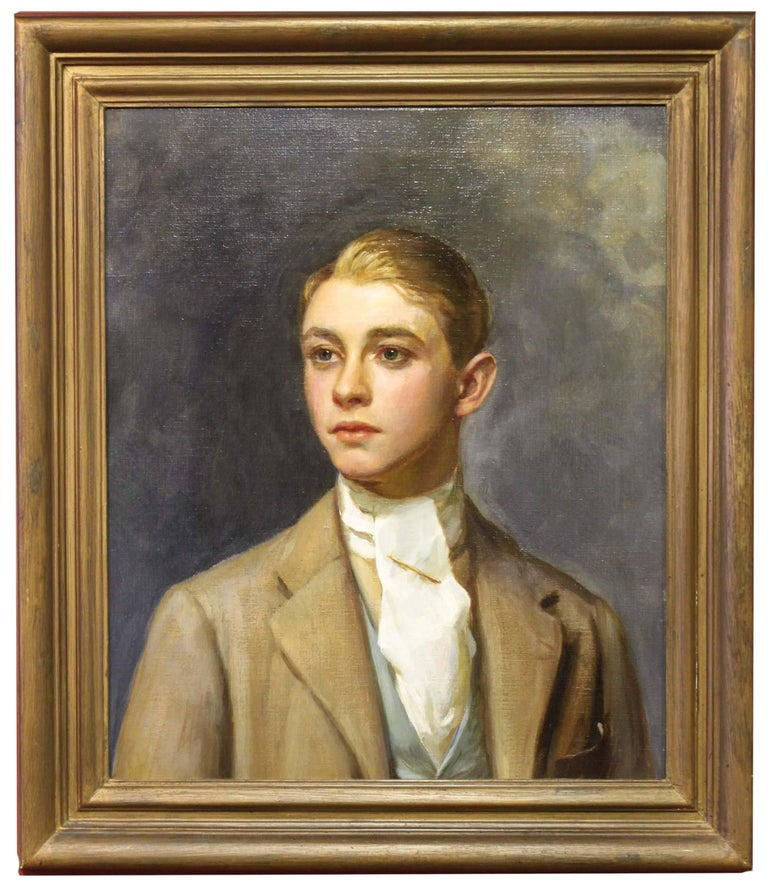Portrait of a Man, Attributed to Oswald Birley