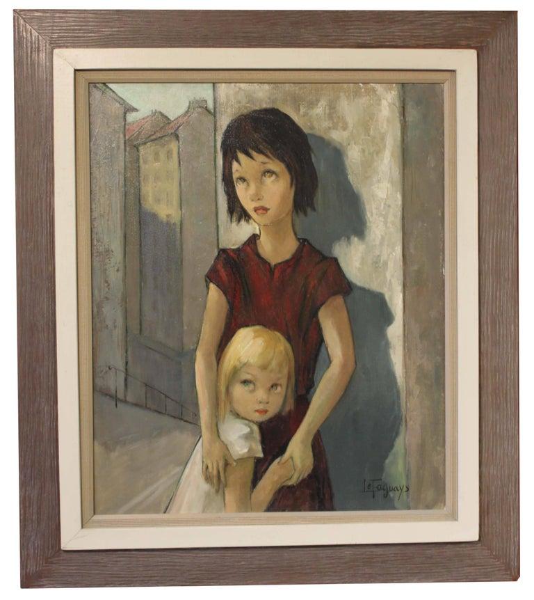 Pierre Le Faguays Portrait Painting - Children
