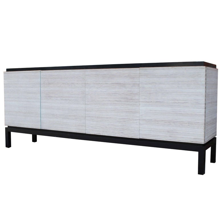Modern Stereo Bar Cabinet For Sale
