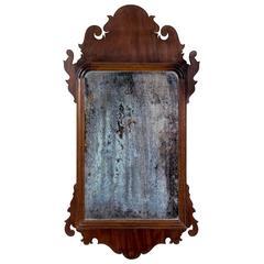 Mahogany Queen Anne Mirror, circa 1760