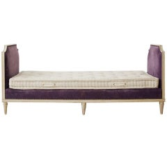 Louis XVI-Style Daybed by Carlhian