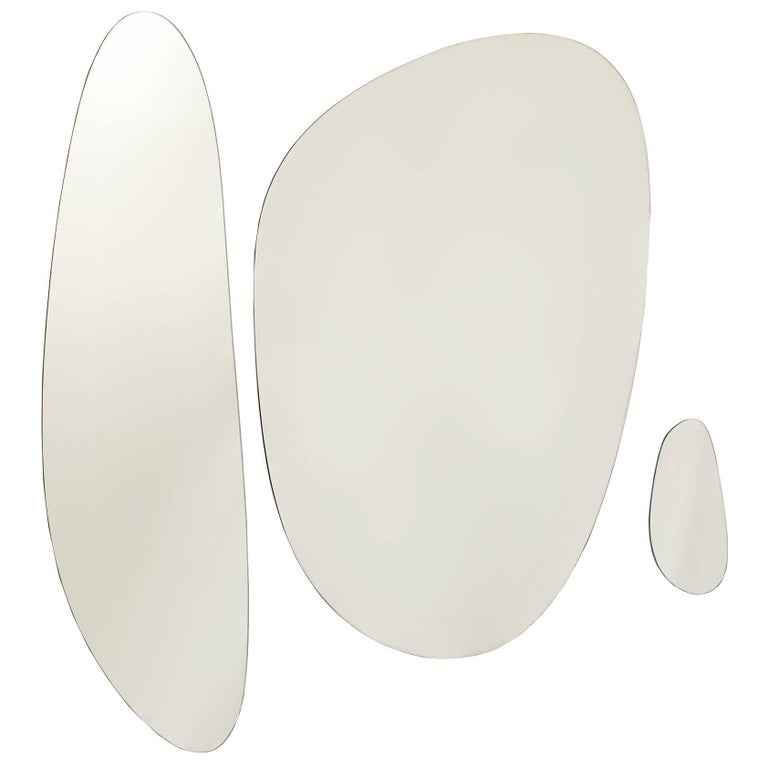 Stone Brazilian Contemporary Mirrors by Lattoog