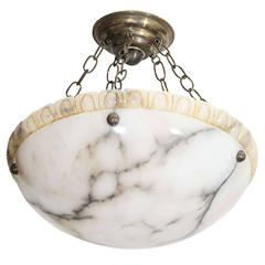 Alabaster Light Fixture