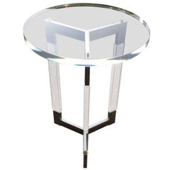 "Charles Hollis Jones Tripod Side Table ""Metric Collection"""
