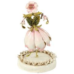 """Flower Lady"" Sculpture"