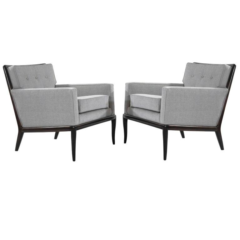 T.H. Robsjohn-Gibbings for Widdicomb Lounge Chairs, 1950s